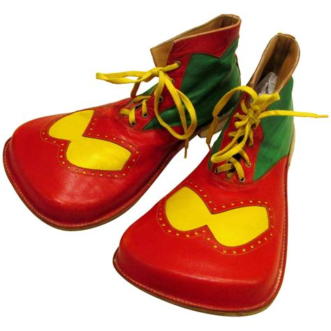 clown shoes big colorful clown shoes at 1stdibs