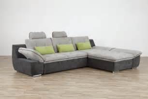 canap 233 d angle milo gris fonc 233 gris clair sb meubles
