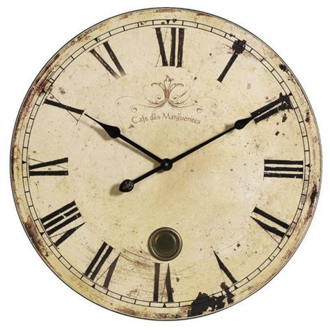 large antique vintage style wall clock modern home