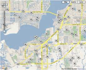 florida fort myers map southwest florida zip code map images