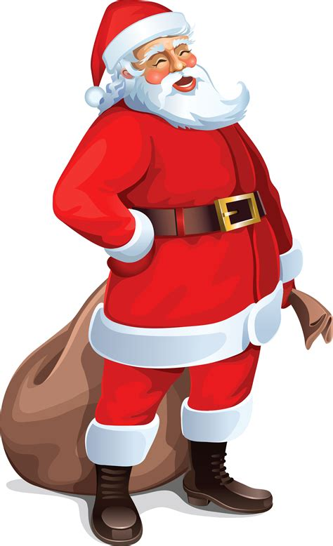 large santa clipart clipart suggest