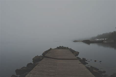 images sea ocean horizon fog sunrise mist