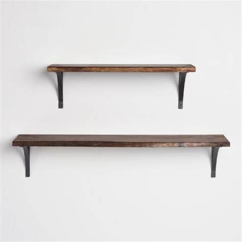 Dijual Sale Rak Dinding Organizer Serbaguna 3 ft organic edge wood mix match wall shelf world market