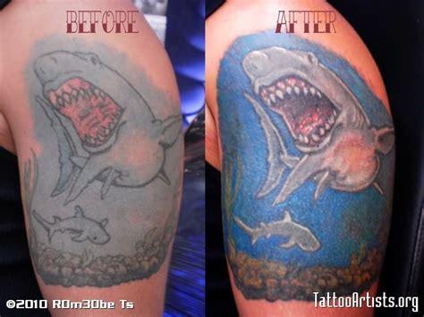 shark tattoo sleeve shark on sleeve