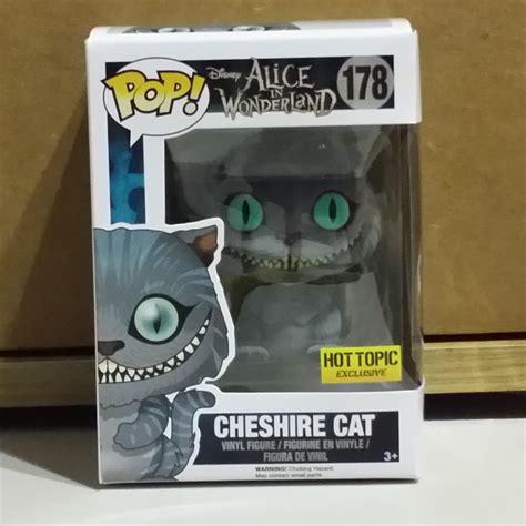 Funko Pop Disney In Cheshire Cat Flocked funko pop disney cheshire cat 178 flocked topic exclusive
