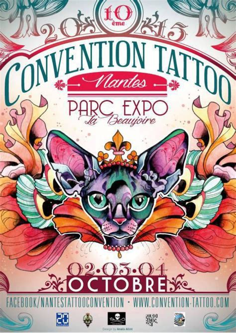 10 i 232 me salon international du tatouage de nantes parc