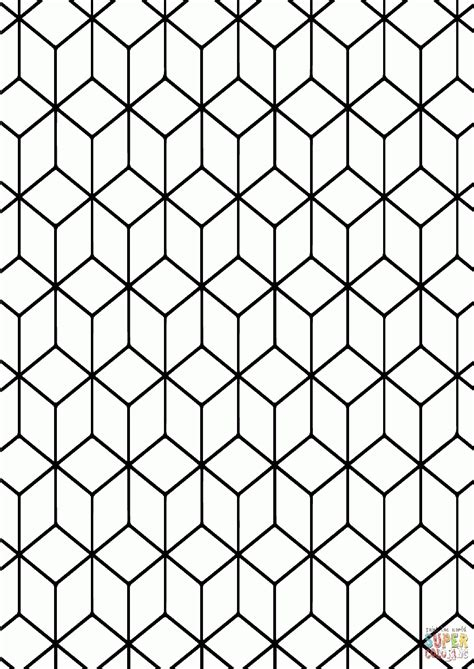geometric tessellations coloring pages geometric tessellations coloring pages coloring home