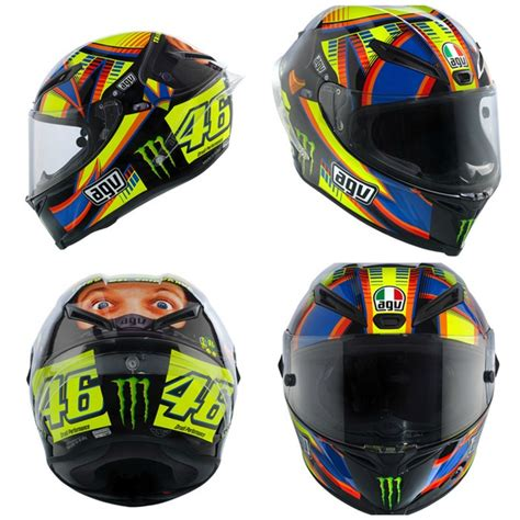 Agv K3 Sv Wintertest Black Limited Edition agv corsa valentino helmet winter test