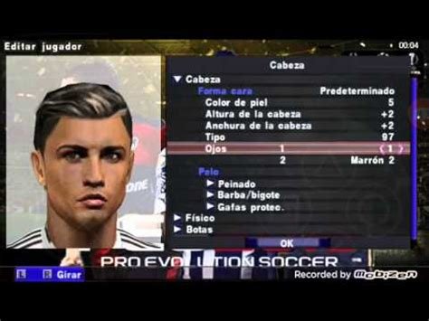 theme psp cristiano ronaldo new face and hair cristiano ronaldo pes 2016 psp youtube