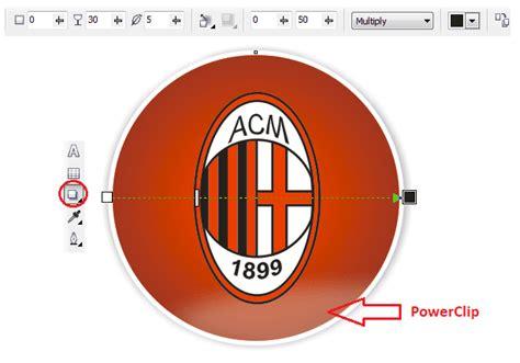 tutorial membuat vector logo tutorial membuat logo ac milan dengan coreldraw x4
