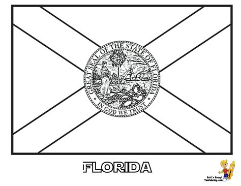 Patriotic State Flag Coloring Pages Alabama Hawaii State Flag Coloring Pages