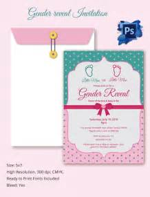 Gender Reveal Template by Gender Reveal Invitation Templates Free Premium Templates