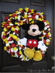 Hobby Lobby Fall Decorations - confessions of a plate addict a special mickey mouse birthday wreath