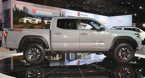 2020 Toyota Tacoma Updates by 2020 Toyota Tacoma Unveiled With Mild Styling Updates