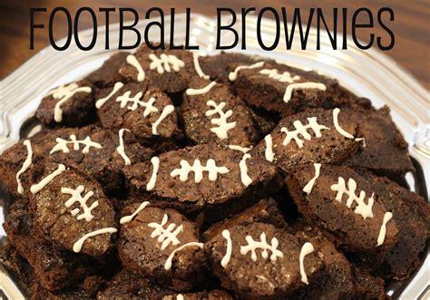 college football saturday tailgate football brownies