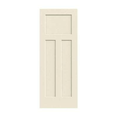 home depot interior slab doors craftsman smooth 3 panel solid core primed molded interior