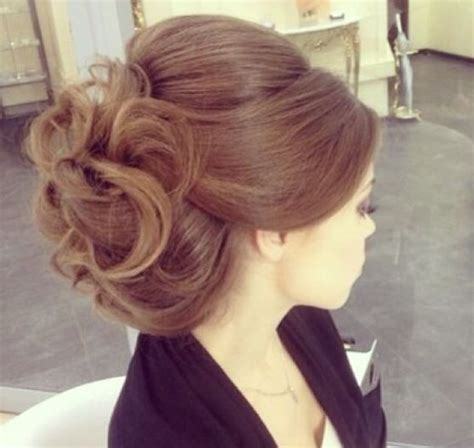 upstyle hairstyles volume soft curls up style soft upstyles pinterest
