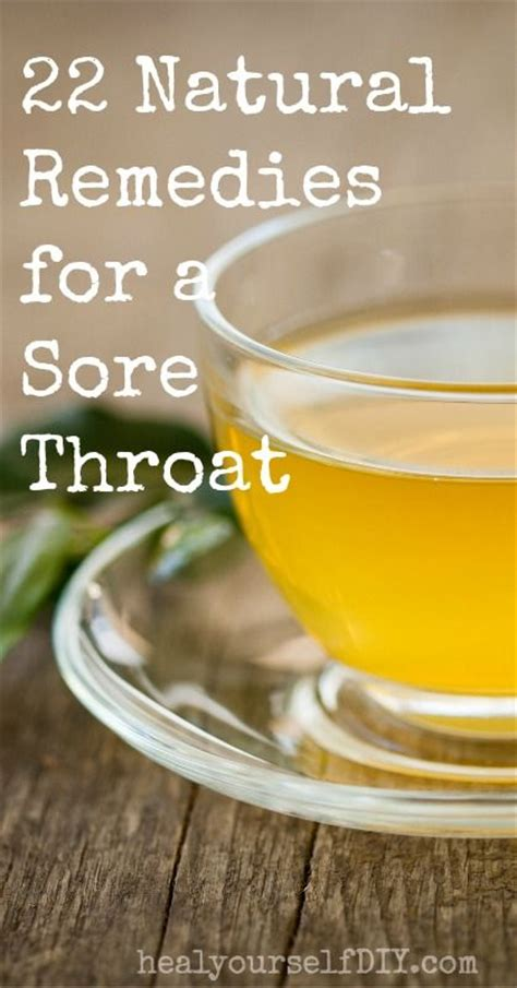 22 sore throat remedies to help soothe the