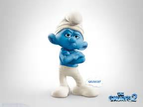 grumpy smurf pictures the smurfs 2 2013 wallpapers cover photos