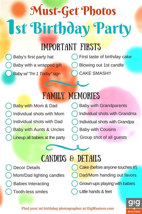 how to prepare for first birthday picturesmaking a giant hire a photographer for your 1st birthday party