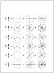 fraction coloring sheets free equivalent fractions coloring pages