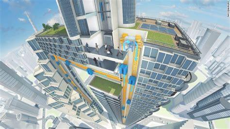 elevator  shape  cities   future