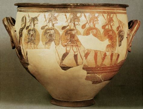 Mycenaean Warrior Vase by At College Of Charleston Studyblue
