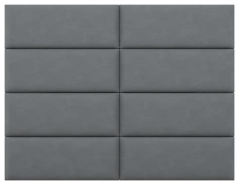 modern upholstered fabric wall panels with gray wall vant upholstered headboards accent wall panels suede gray