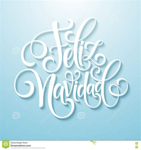 typography template feliz navidad lettering decoration text for greeting card design template merry