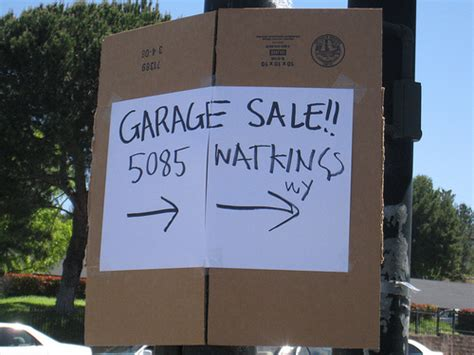 Another Name For Garage Sale by The Sales Pitch Of Earth Attention