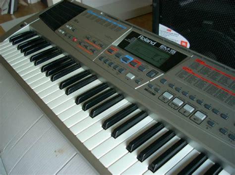 Keyboard Roland Em 15 roland em 15 trouvez le meilleur prix sur voir avant d