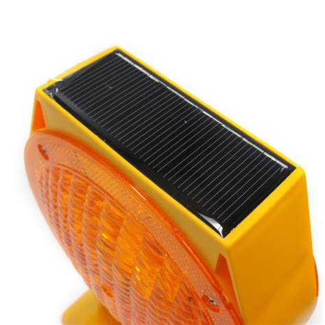 Solar Led Barricade Light Bc Site Service Solar Barricade Lights