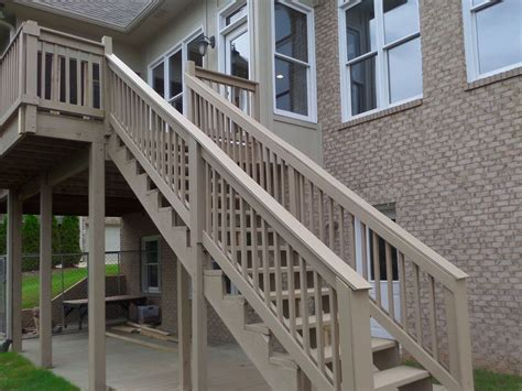 Banister Repair by Hometalk How To Repair Your Deck Railing And Stairs