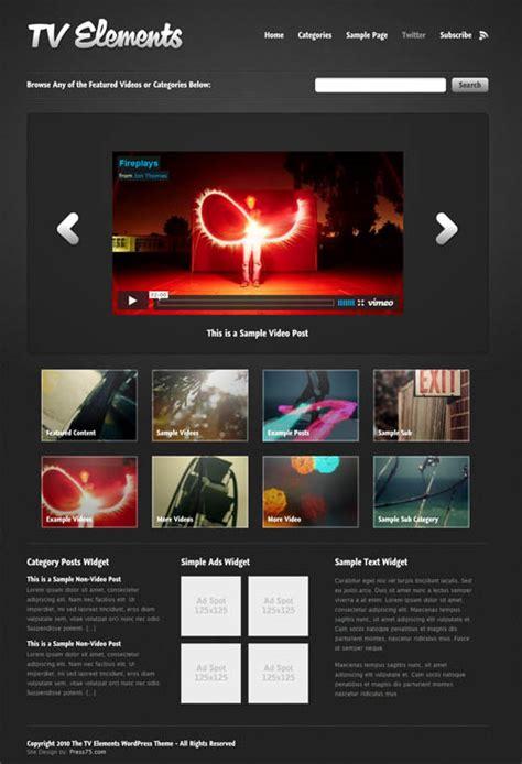 wordpress themes for live tv 10 best free and premium video wordpress themes dobeweb
