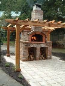 Brick Oven For Backyard by Outdoor Pizza Oven Landscaping Network