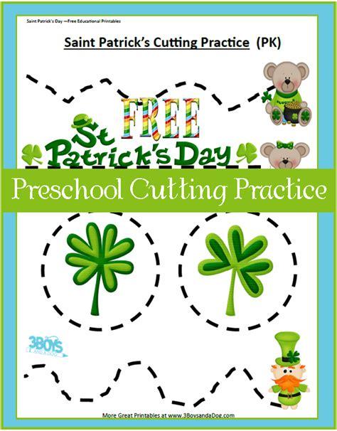 st for preschool 9 best images of preschool cutting practice printable