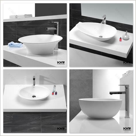 Bathroom Countertops Dubai Dubai Acrylic Resin White Bathroom Sinks Buy Acrylic
