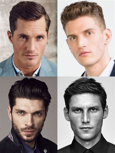men hair styles oval shaped heads how to choose the right haircut for your face shape
