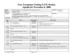 Factory Acceptance Test Plan Template by Uat Testing Template Best Business Template