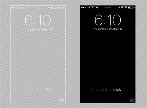 iphone 5 5c 5s lock screen background template psd