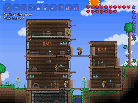 how do you make a bed in terraria terraria review gaming trend