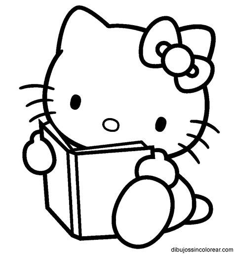 dibujos para colorear kitty dibujos de hello kitty para colorear
