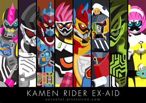 anoboy kamen rider ex aid kamen rider ex aid riders by alwkt86 on deviantart