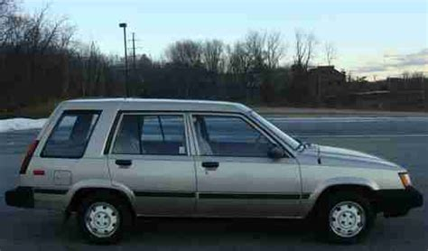 1987 Toyota Tercel Mpg Find Used 1987 Toyota Corolla Tercel Awd Wagon Automatic