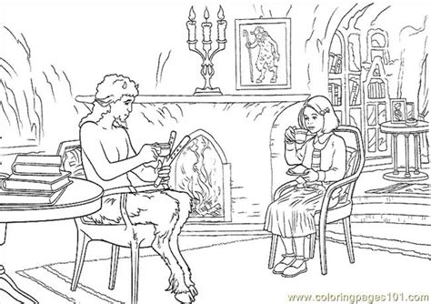 Chronicles Narnia Coloring Page 10 For Narnia And The Narnia Colouring Pages