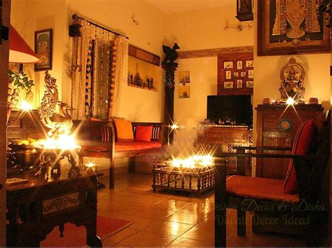 How To Decorate Home With Light In Diwali | interior decoration ideas for deepavali mariquita papi