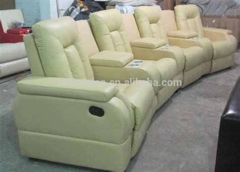 4 seat leather reclining sofa 4 seat leather reclining sofa leather reclining sofa from