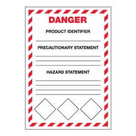 secondary container label template ghs secondary container labels danger ghs labels seton