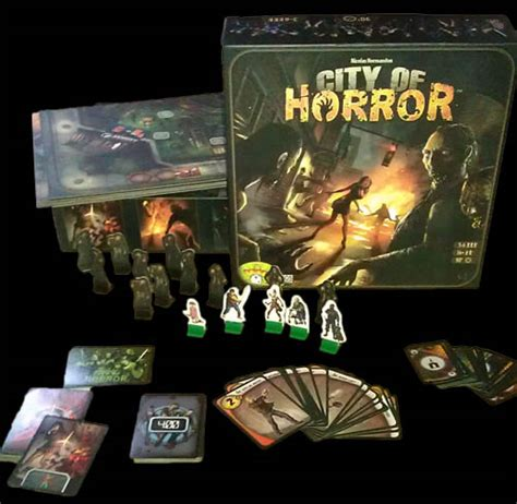 film horror game city of horror board game review horror cult films