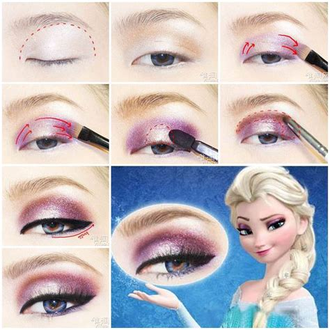 film makeup frozen diy disney s frozen elsa eyeshadow
